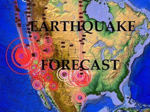 2/3/2015 -- Earthquake Forecast -- West coast AND East coast watch