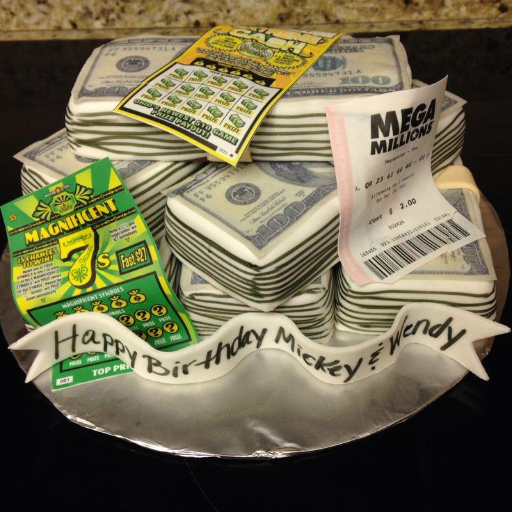 Lottery Cake Megamillions Powerball Tasty J S Bakery