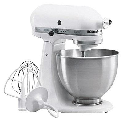 Hot! KitchenAid Classic Stand Mixer Only $199.00   Free Shipping (50% Off)! www.mrsjanuary.com