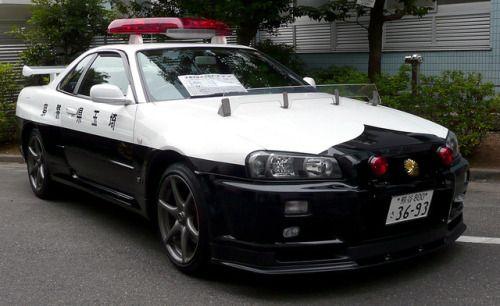 carsthatnevermadeitetc:Skyline GTR R34 1999. Used by the...