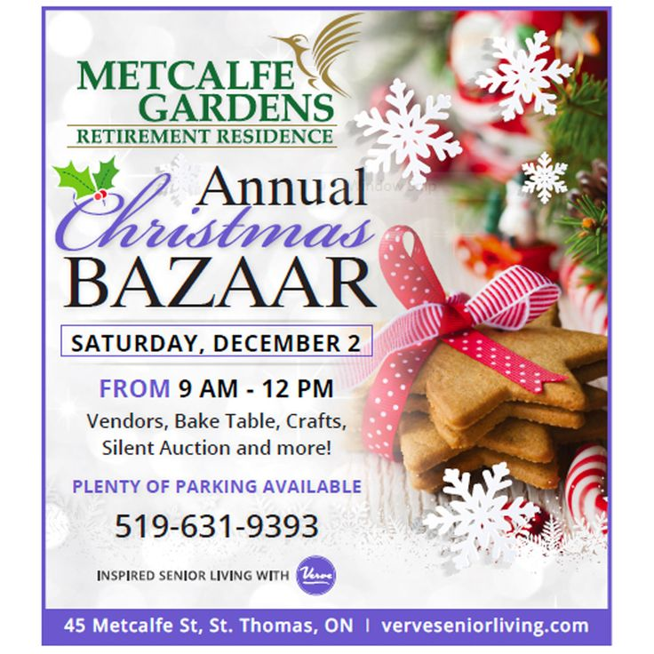 Join us on December 2nd for a fun filled day!