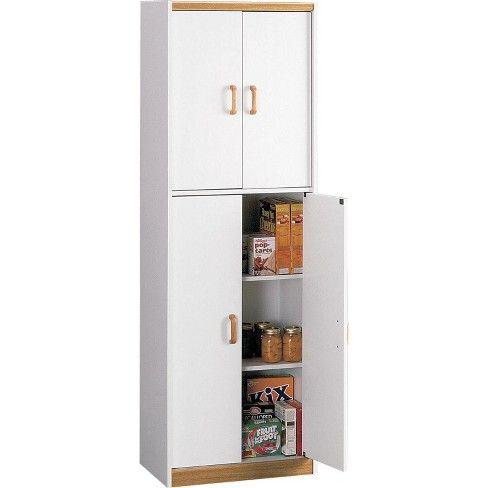 72 Daywood Kitchen Pantry Cabinet White Room Joy Pantry
