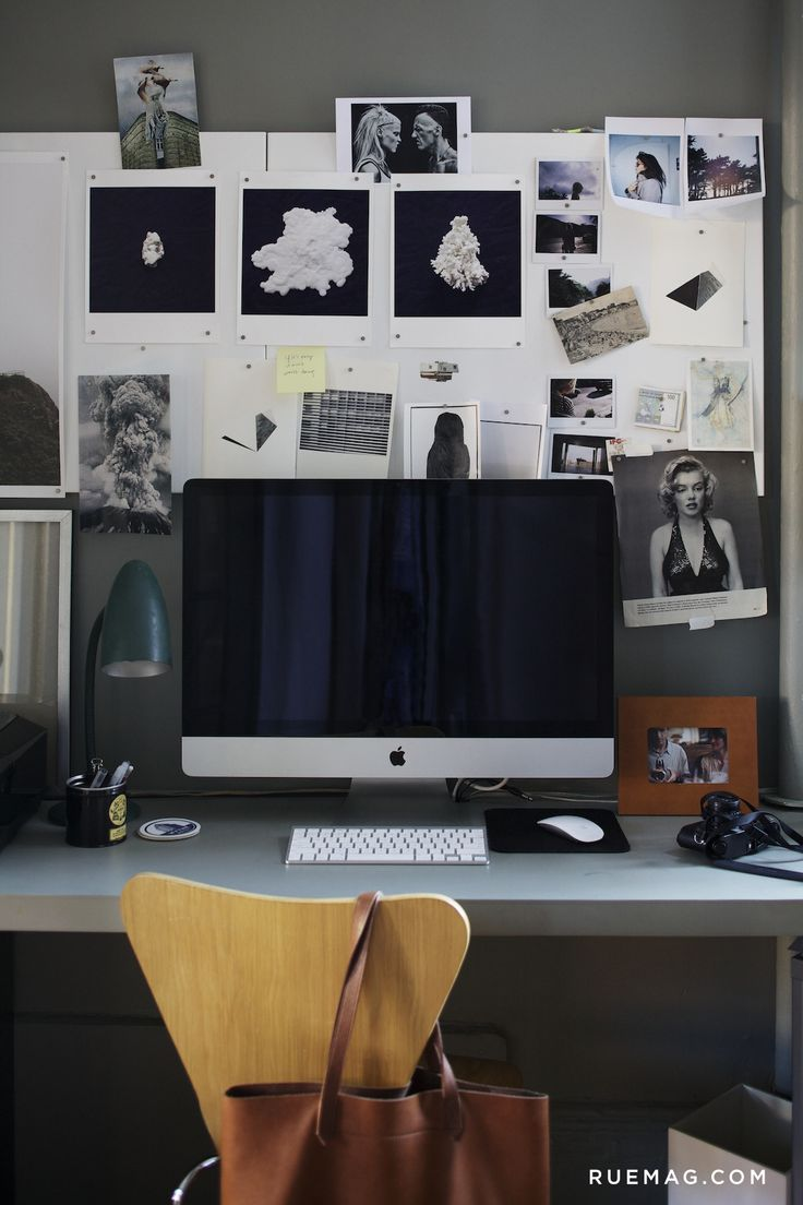 10 Offices that Optimize Above the Desk Décor | Rue