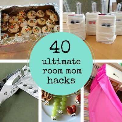 Whether you're a newly appointed room mom (welcome to the party!) or returning for another year of classroom fun (really, you rock), you'll definitely want to bookmark our collection of room parent hacks. Tried and tested by the savviest party planning, glue stick wielding, smile making volunteer ninjas out there, these 40 tips and tricks will make your own room mom experience that much easier -- and a lot more fun.