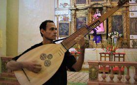 Domingo de música antigua en templo de Tlacochahuaya