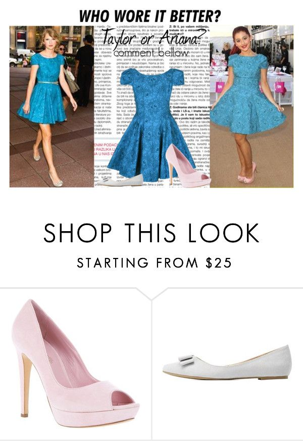 """Taylor Swift vs. Ariana Grande : Who wore it better?"" by lidage on Polyvore featuring Charlotte Russe and WhoWoreItBetter"