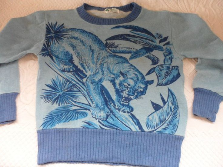 Boy's Panther Sweater