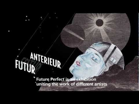 Beautiful graphic treatment for an exhibition in Paris about retrofuturism, archeomodernism and steampunk!
