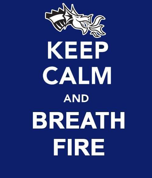 Drexel Keep Calm! #BreatheFire #DrexelDragons #DrexelBasketball