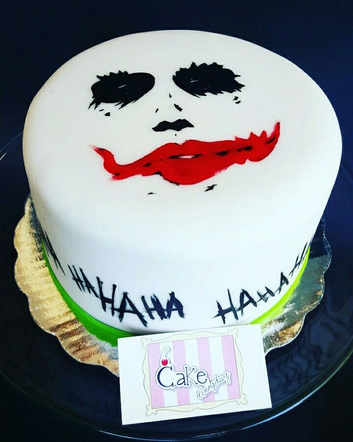 The joker cake Pastel Guason