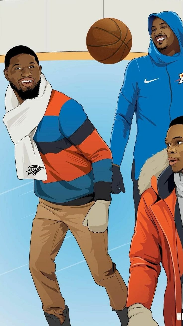OKC'S OK3 Russell Westbrook, Paul George and Carmelo Anthony Christmas edit