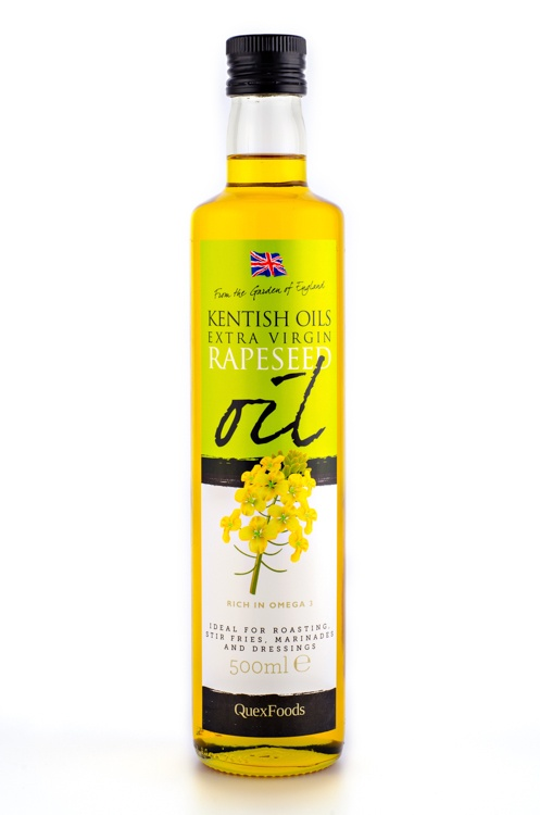 Our original cold pressed rapeseed oil