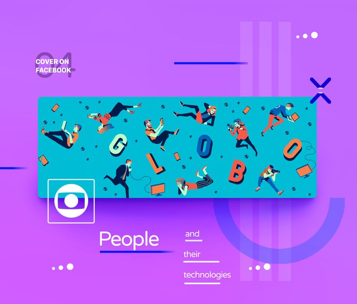 I was invited to create a series of illustrations for Facebook from Rede Globo, the largest communication group in Brazil.With a creative approach and covering different audiences, always exploring the fun and communicational side of the company.