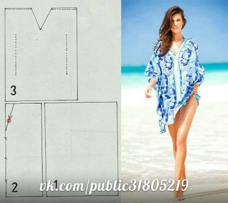 Faire une robe de plage - Elkalin.Couture,broderie main machine