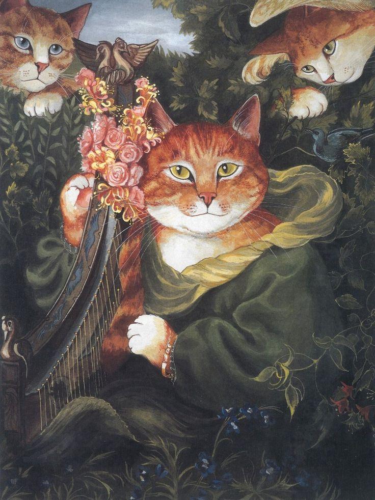 "Susan Herbert after Dante Gabriel Rossetti: ""La Ghirlandata"""