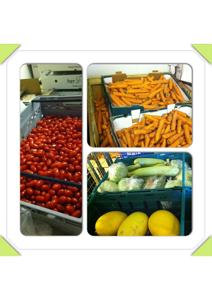 Look at the fresh fruit and veg that FareShare is delivering today to people in food poverty.