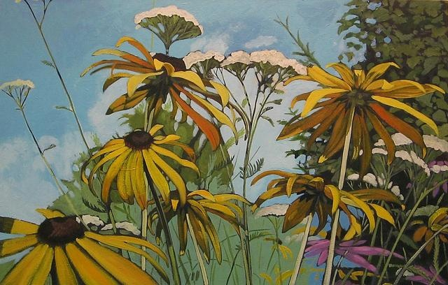 """""""Wildflowers in Guelph"""" by Jeremy Vaughan"""