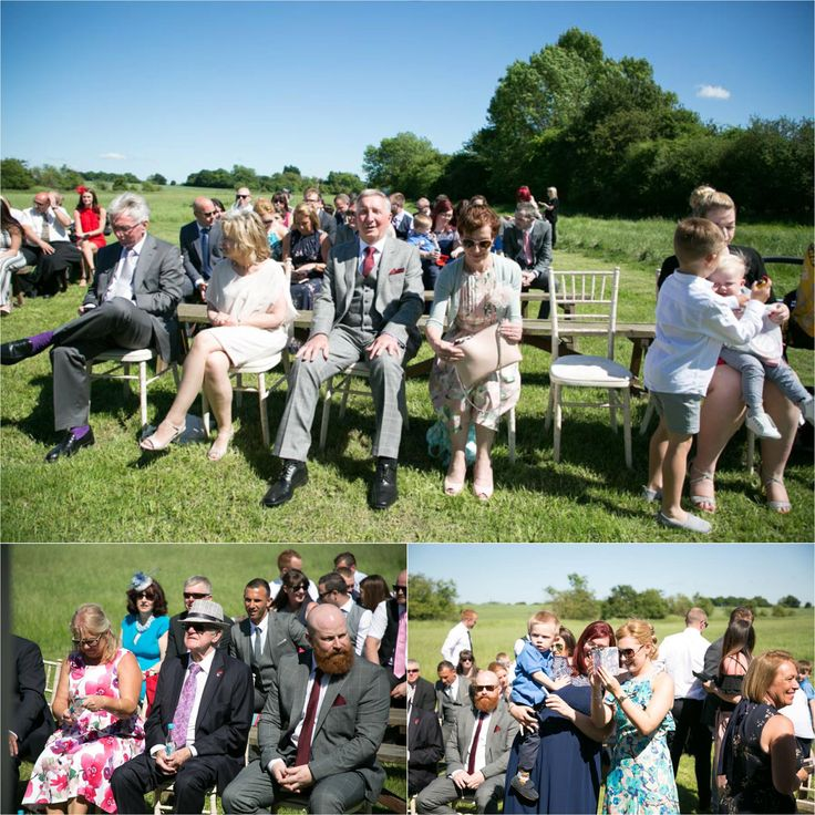 out door ceremony at reid rooms wedding, fun quirky wedding photography
