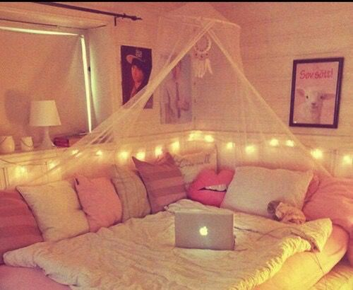 exciting cute girly bedroom ideas | Untitled | via Tumblr #girly, #pink, cute #style room ...
