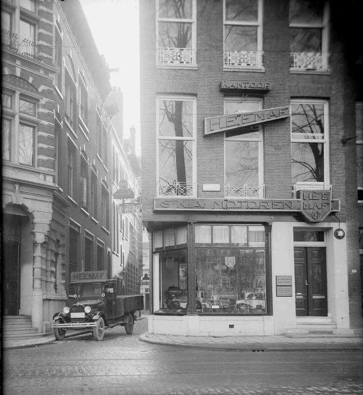 Rotterdam - Zuidblaak, kantoot- & winkelpand Heemaf (motoren ) 1921