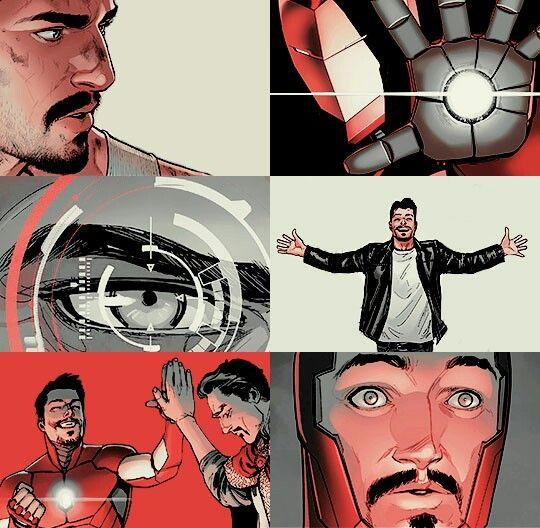 Tony stark comic vs movie