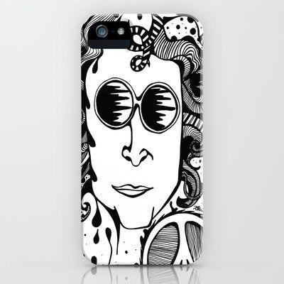 Lennon  iPhone & iPod Case by Katrina Berkenbosch  - $35.00
