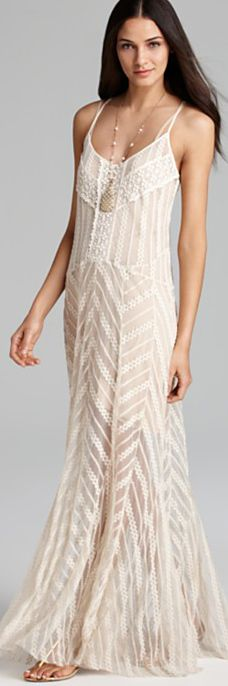 Best 25  Cream maxi dresses ideas on Pinterest | Cream festival ...