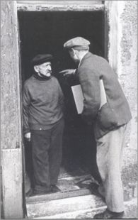 Alfred Wallis meets Ben Nicholson in 1928.