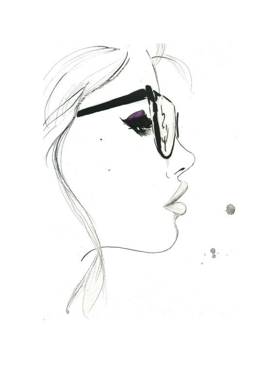 That Nerdy Girl Print from original von JessicaIllustration auf Etsy, $22.00