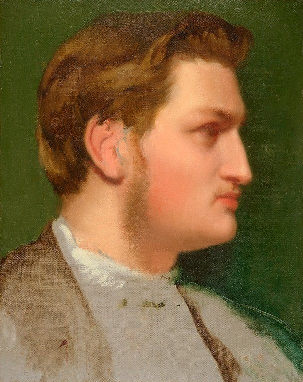 Edgar Degas, Portrait of Paul Valpinçon, about 1855,