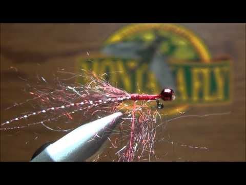 A different take on Phil Rowley balanced leech. I like to tie my leech's small to fish under a indicator. The leech pattern in typically t...