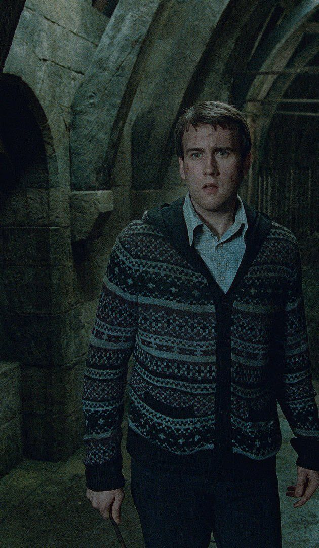 Pictures & Photos of Neville Longbottom<<< Neville Longbottom~ Fighting the Battle of Hogwarts in a plaid cardigan cuz he's just that cool!