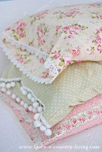 Vintage Pillow Cases