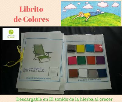 Librito de los colores descargable :El sonido de la hierba al crecer