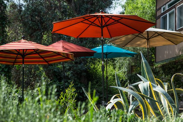 The Best Patio Umbrella and Stand | The Sweethome