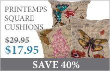 Printemps Cushions