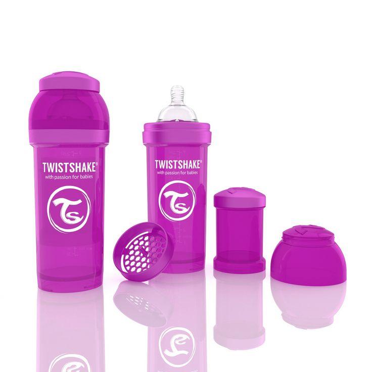 Антиколиковая бутылочка Twistshake 260 мл. #twistshake #abumba
