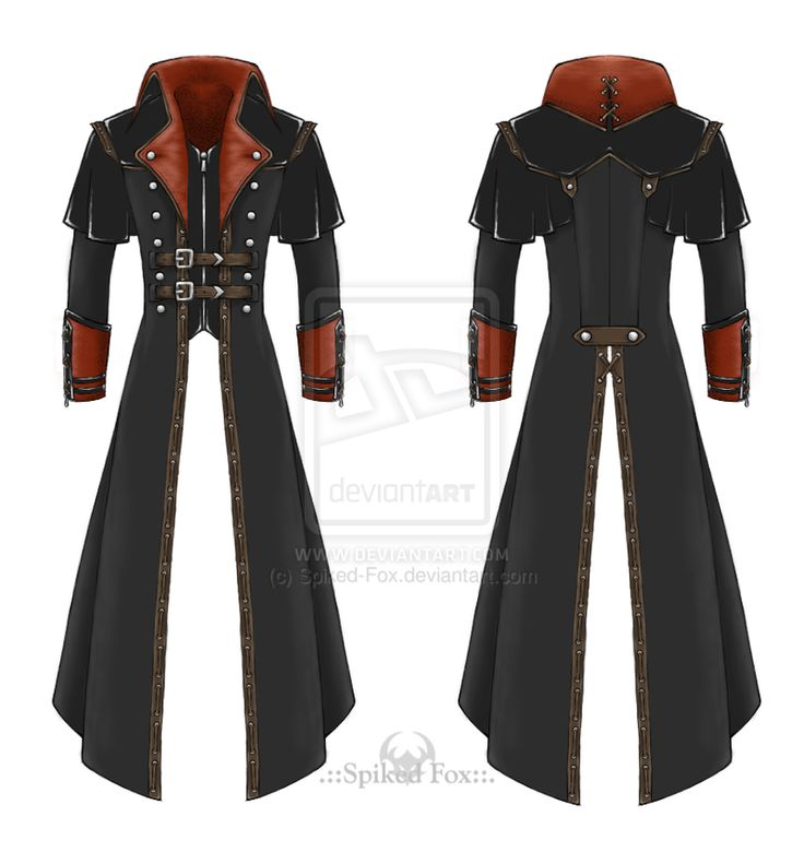 Post-apocalyptic trench-coat by Spiked-Fox.deviantart.com on @deviantART -- I know fashion wouldn't be their first priority, but you hafta admit this would be a freaking awesome coat for the leader to wear 83