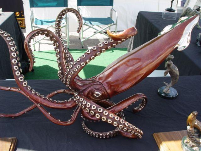Amazing Giant Squid by lanabosak on DeviantArt