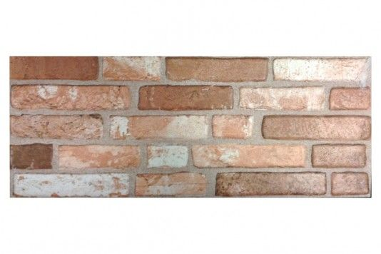 Red Brick Effect Wall Tiles 20x50cm - Tons of Tiles