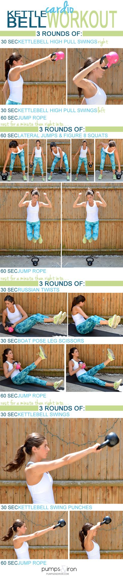 Kettlebell Cardio #Workout
