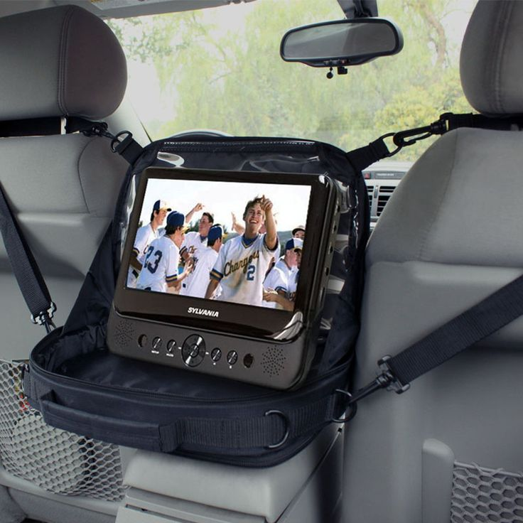 usa gear in car portable dvd player case mounting display fits 7