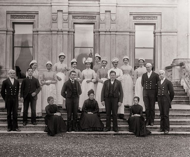 Curraghmore House meets Downton Abbey by National Library of Ireland on The Commons, via Flickr