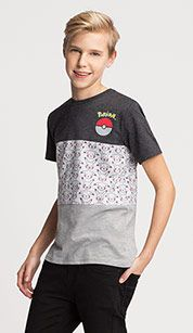 Pokémon-shirt met korte mouwen in gekleurd