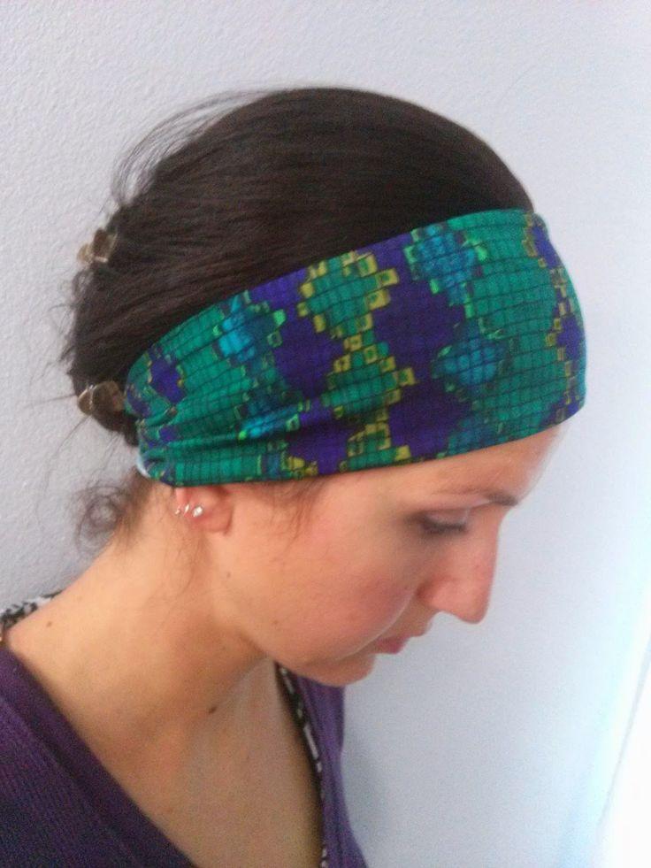 Our Pretty Little Girls: Athletic Headbands {DIY}
