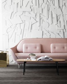 Add this pink interior design selection to your own inspirations for your next interior design project! More pink interior design ideas at http://essentialhome.eu/