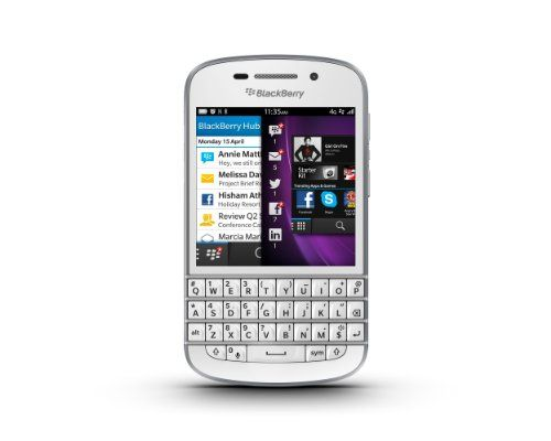 """The #BlackBerry Q10 follows the footsteps of many legacy smartphone featuring a 3.1"""" touchscreen, QWERTY, and its fancy glass material."""