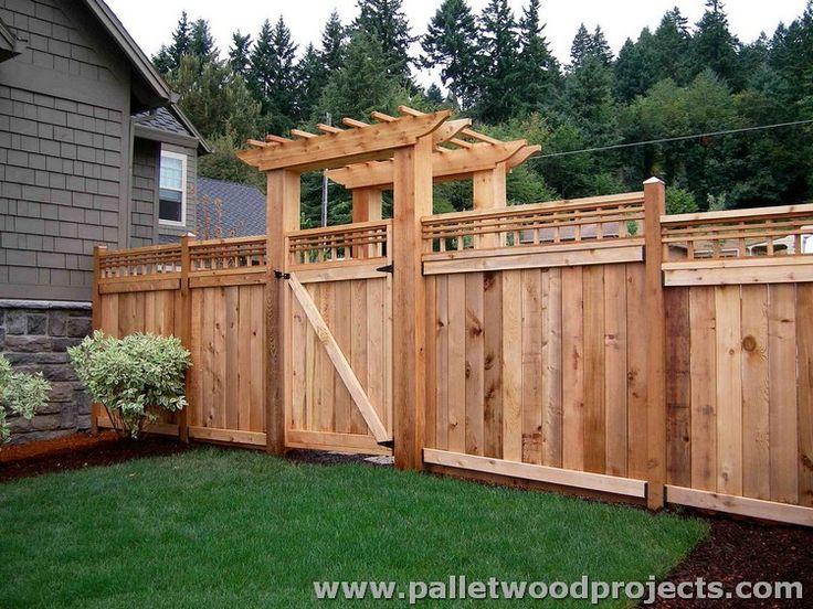 Best 25 Cheap Fence Ideas Ideas On Pinterest: Best 25+ Wood Pallet Fence Ideas On Pinterest