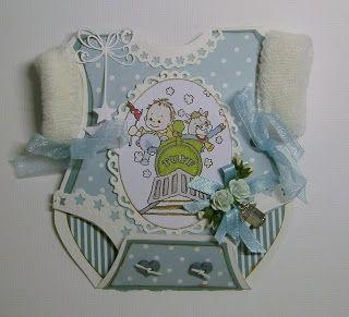 Från Pysselbordet: Babykort
