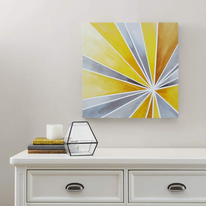INTELLIGENT DESIGN Intelligent Design Ray Of Sunshine Gel Coat Canvas Art